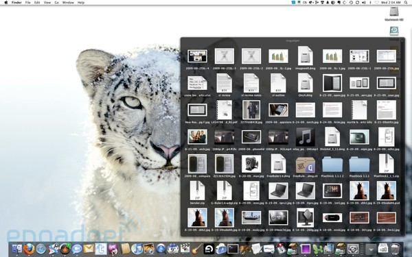 Snow leopard review weve never been huge users of the stacks feature but its been tweaked and is much more usable in 106 as long as youre using grid view ccuart Image collections