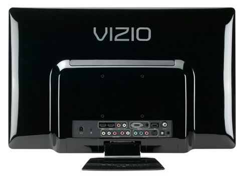 VIZIO LED rear