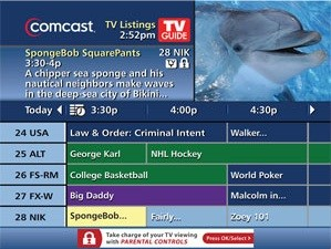 Comcast iGuide