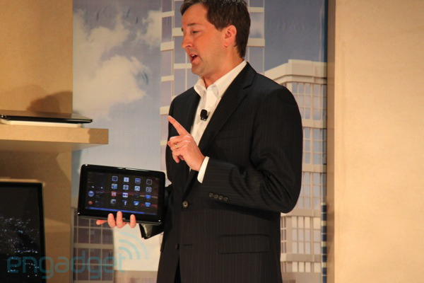 Live from Samsung's CES 2011 press event