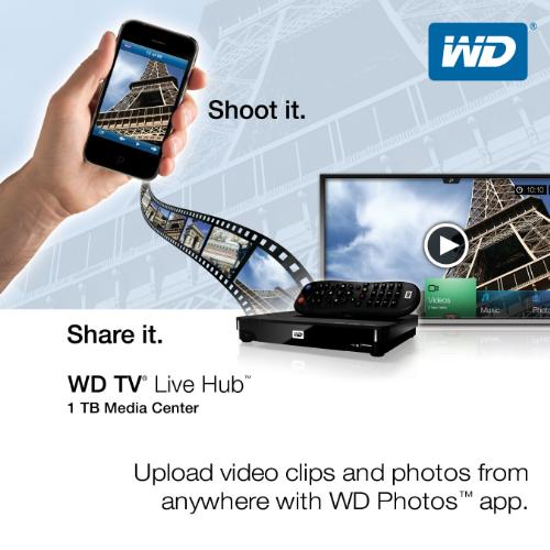 Western Digital Photos app on iOS and Android update allows sharing