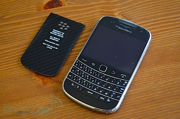 BlackBerry Bold 9900 preview! (video)