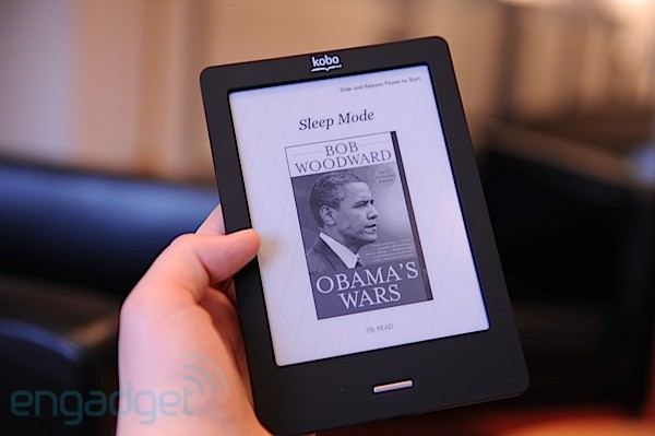 Playing with toys: kobo ereader touch edition [review] | zdnet.