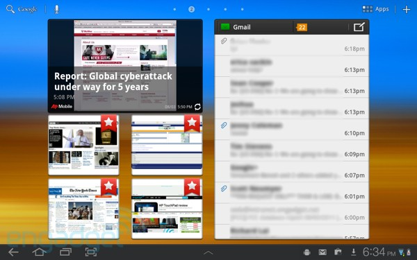 Hands-on with TouchWiz UX for the Samsung Galaxy Tab 10 1