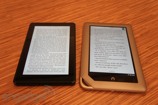 Kindle Fire Reading