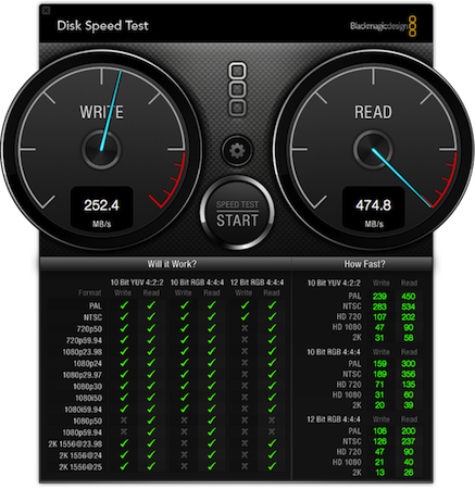 Disk speed test windows 7