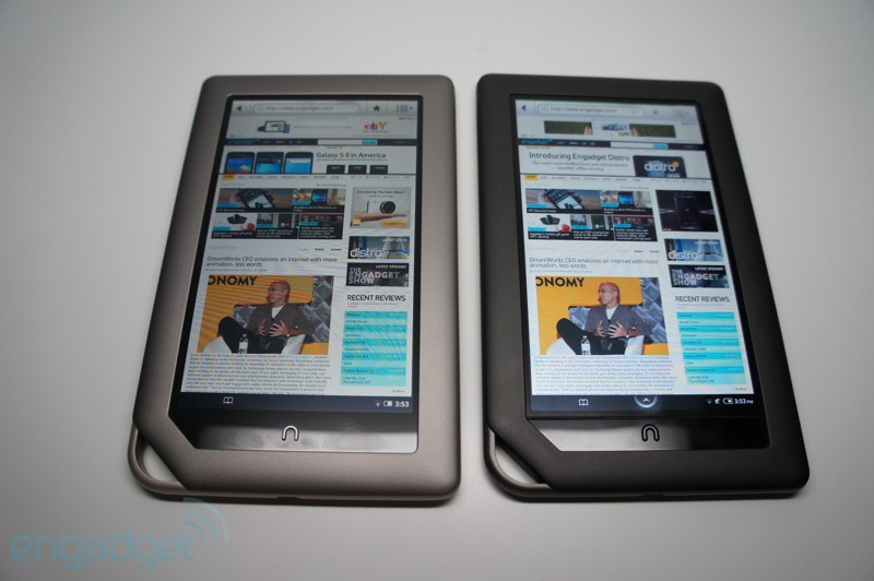 Nook Tablet vs. Nook Color vs. iPad
