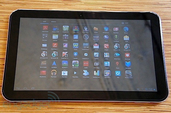 DNP  Toshiba Excite 13 review a bigscrened tablet with a price to match