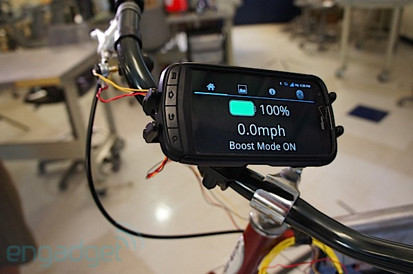 DNP HyCycle electric bike handson