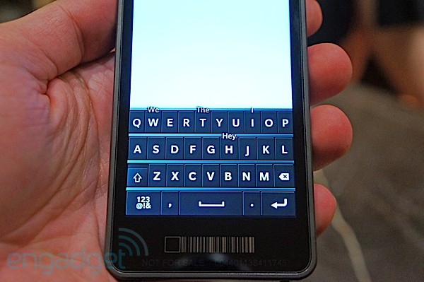 BlackBerry 10 handson video