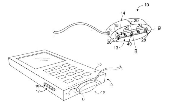 Microsoft applies to patent Magsafelike magnetic power coupling