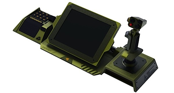 Razer unveils Artemis prototype controller for MechWarrior Online, we go eyeson