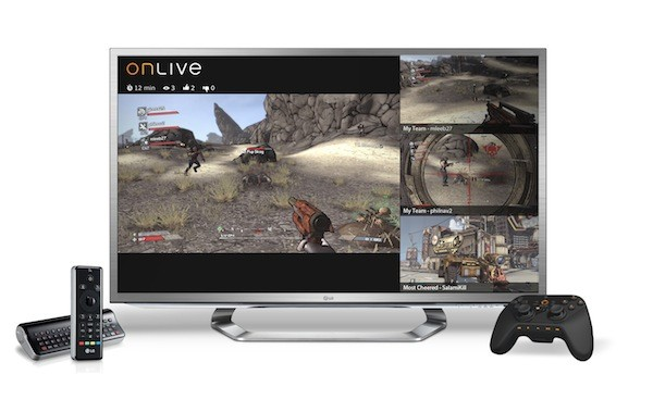 OnLive's E3 blowout includes new games, easy inbrowser access, MultiView and LG's Google TV