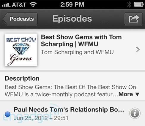 Apple's Podcasts app handson