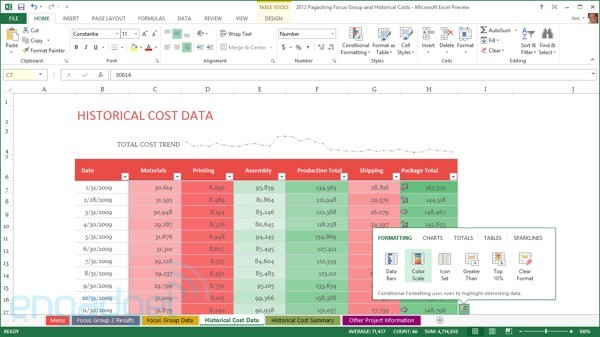 DNP EMBARGO Microsoft Office 15 Preview details, screenshots and impressions