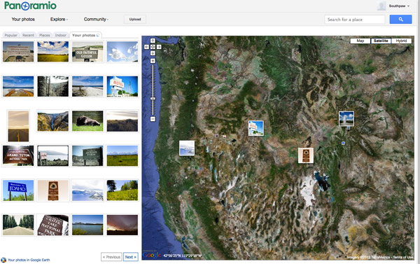 Embracing geotagging how to journal your trips and contribute to Google Earth with snapshots