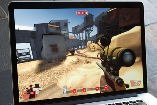 DNP How well can the MacBook Pro with Retina display handle Windows games