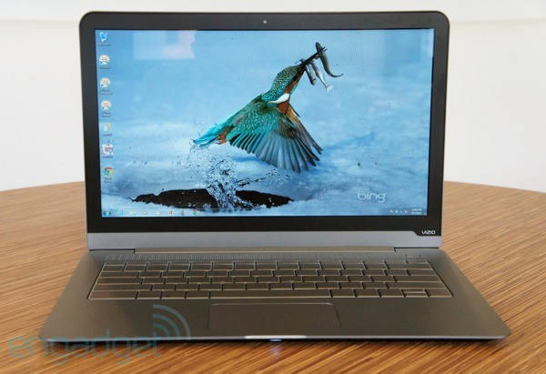Vizio Thin  Light review 14inch, mid2012 what happens when a TV maker enters the PC market
