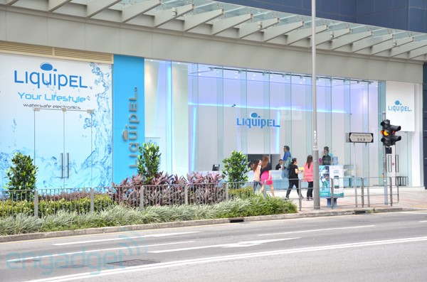 Liquipel launches retail store in Hong Kong, spreads the hydrophobia for gadgets