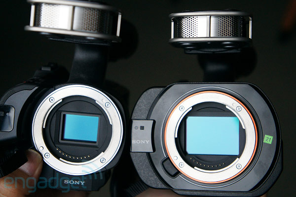 Sony announces NEXVG30 and fullframe NEXVG900 Handycams, we go handson