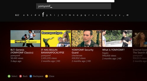 Xbox 360 YouTube app update rolls out with 5x speed improvement, access to 'official' music videos