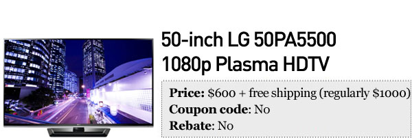 Slickdeals' best in tech for September 24th Dell UltraSharp display, 50inch LG HDTV and a Canon Rebel T3 bundle