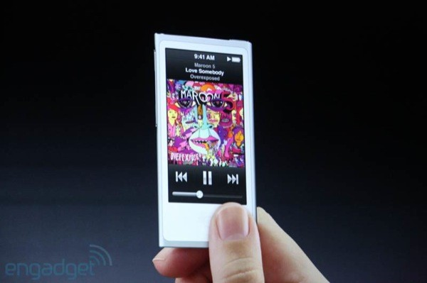 Apple outs refreshed iPod nano 25inch multi touchscreen, 28 percent thinner