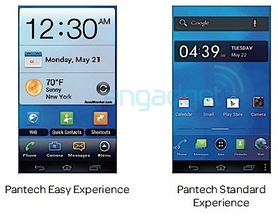 Pantech Flex user manual leaked, shows Easy Experience mode in detail