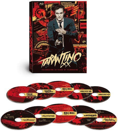 Tarantino XX Bluray set brings 20 years of Quentin, eight movies and ten discs home November 20th