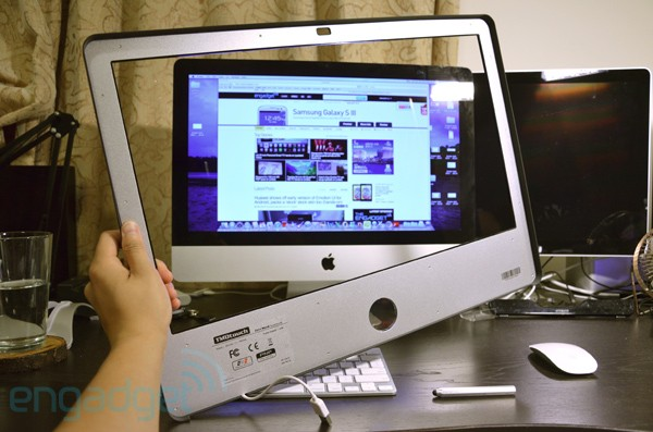 Zorro Macsk review instantly add touchscreen functionality to your 215inch iMac