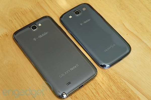 Samsung Galaxy Note II for TMobile review