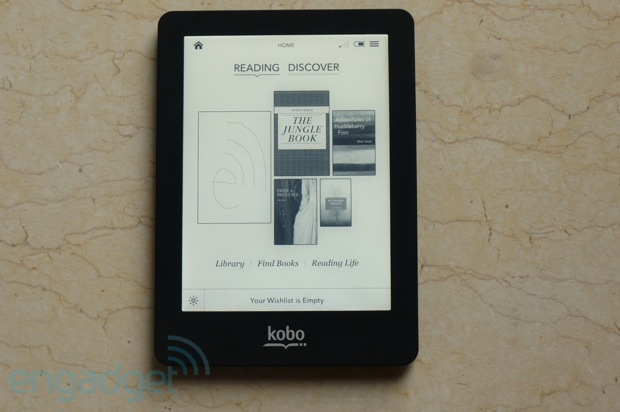 Kobo Glo review: another illuminated e-reader lights up the