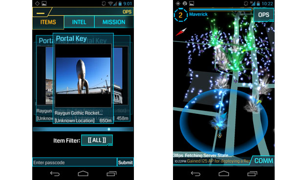 Google wants to change your reality with Ingress, a mobile game played out in real life