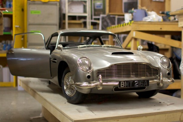 DNP 3D printer used to produce Skyfall's Aston Martin stunt double
