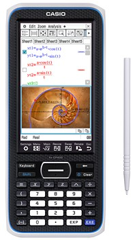 Casio's touchscreen graphing calculator arrives in 2013, makes the TI84 look dated