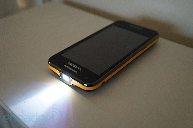DNP Samsung Galaxy Beam review stay for the projector, but that's it