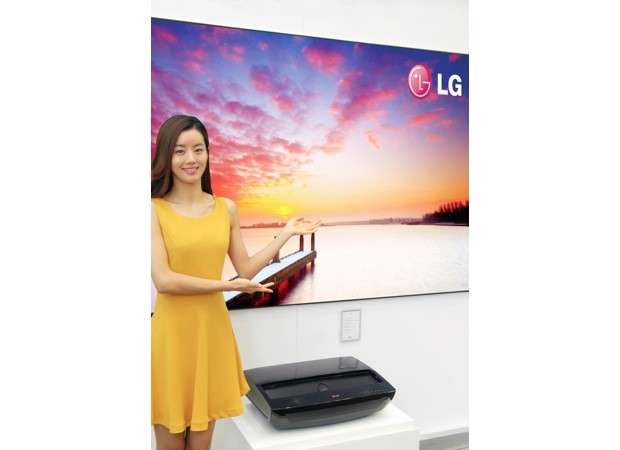 LG 'Hecto' laser TV projector to debut at CES 2013, promises a 100inch screen from 22inches away