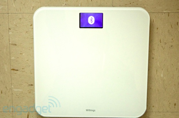 DNP Withings WS30 WiFi bathroom scales handson