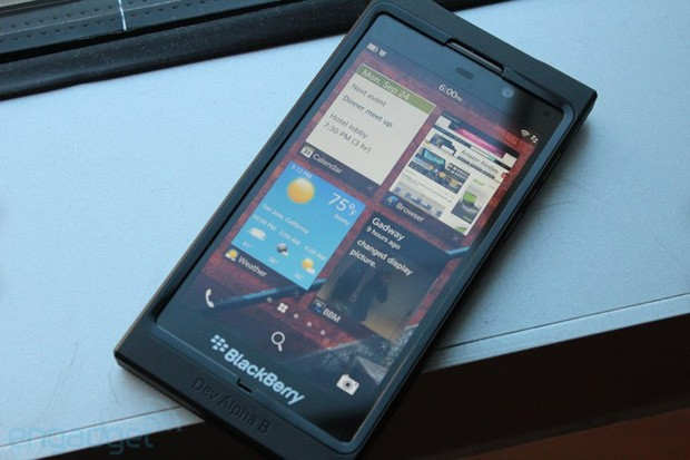 BlackBerry Dev Alpha B hands-on