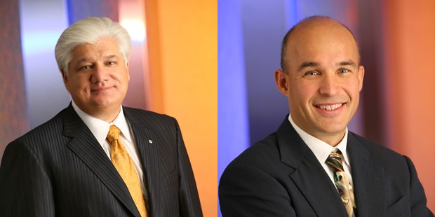 Mike Lazaridis and Jim Balsillie