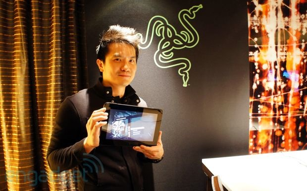 Handson with Razer's Edge, a $999 gaming tablet  PC  console hybrid