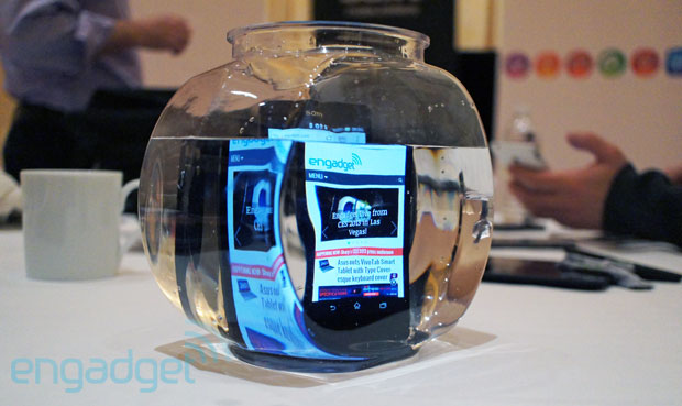 Sony Xperia Z handson with the new flagship at CES 2013 video