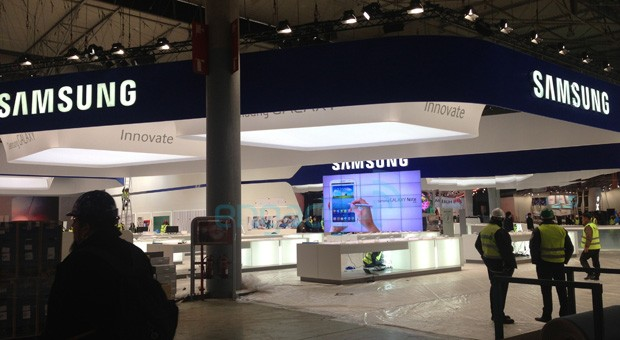 Samsung Galaxy Note 80 spotted at MWC,