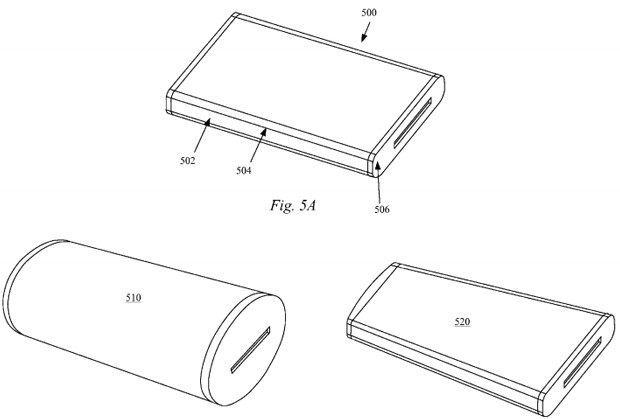 Apple patent filing describes phone concept with wraparound AMOLED display