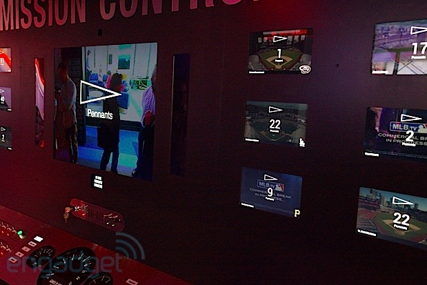 DNP Breakfast NY's mission control center merges MLB info with NASAflair, uses 20feet of switches and screens