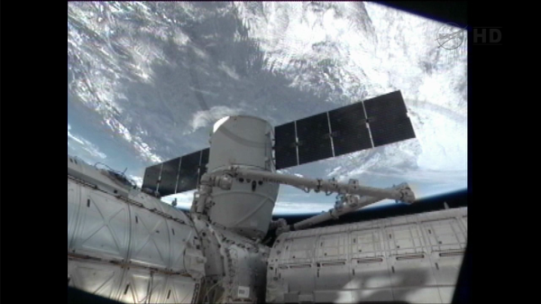 Watch live SpaceX's Dragon capsule will rendezvous with the ISS today, coverage begins at 330AM ET update success!