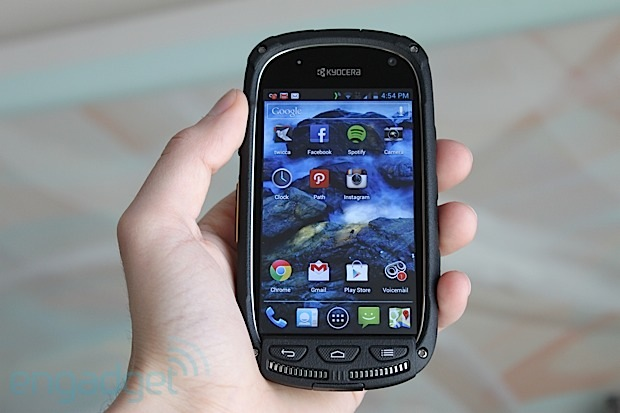 DNP Kyocera Torque review