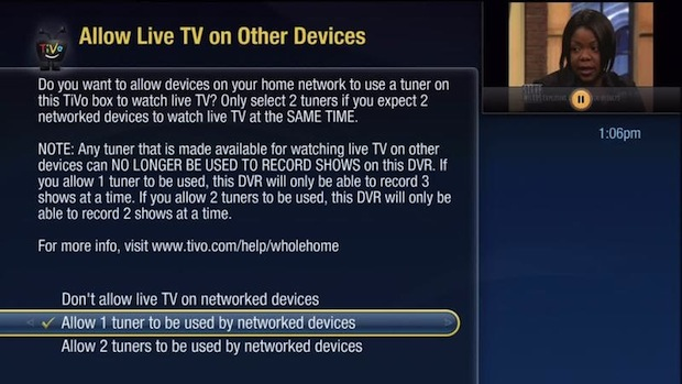 Using Netflix on your TiVo