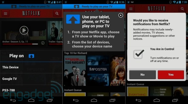 Netflix's House of Cards comes to Bluray in June second screen feature updated on Android