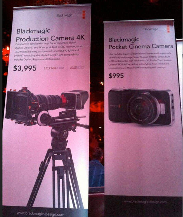 Blackmagics Production Camera 4K gets full size sensor, $3,995 pricetag